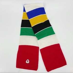 The Hudson Bay Olympic '06 scarf multicolor
